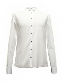 Mens shirts online: Label Under Construction Frayed Buttonholes white shirt