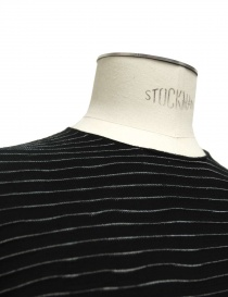 Label Under Construction Encaged Yarn Striped sweater mens knitwear price