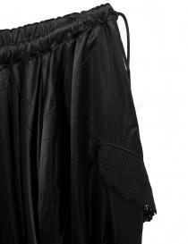 Miyao black skirt price