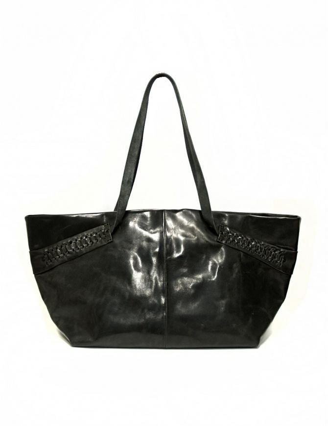 Borsa Delle Cose in pelle con inserti laterali 723-HORSE-26 borse online shopping