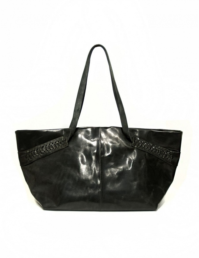 Delle Cose leather bag with lateral inserts 723-HORSE-26 bags online shopping