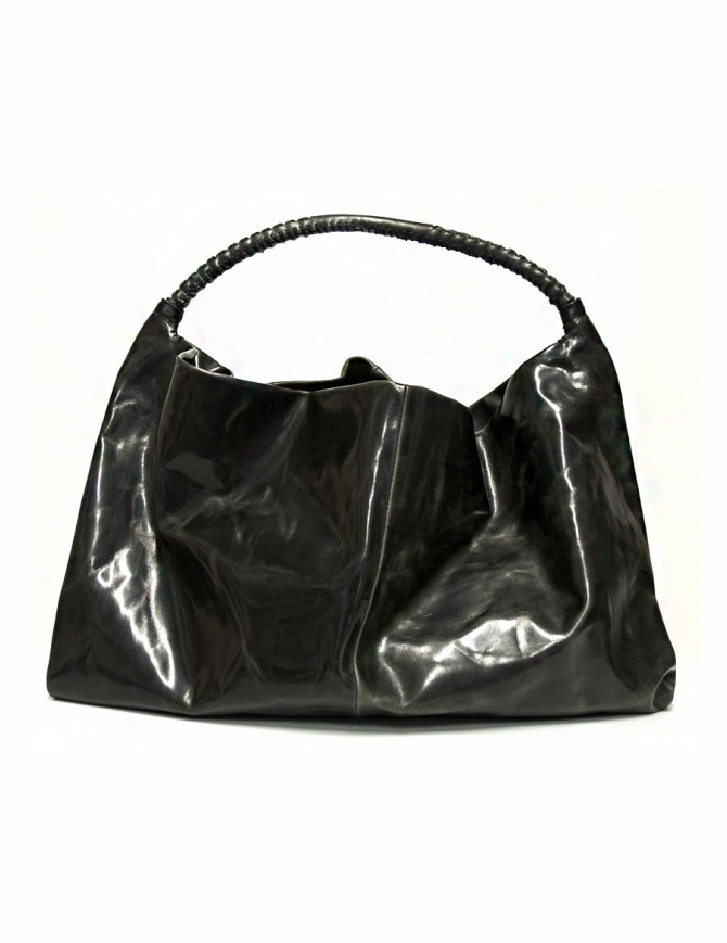 Delle Cose leather bag with lateral zip 722-BABYCALF-26 bags online shopping