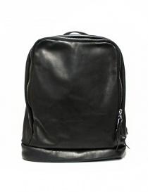 Zaino Delle Cose modello 76 in pelle nera Z6 BABY CALF BLK