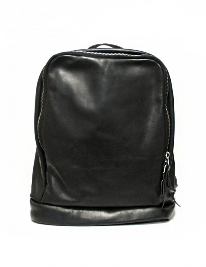 Delle Cose model 76 black leather backpack Z6 BABY CALF BLK bags online shopping