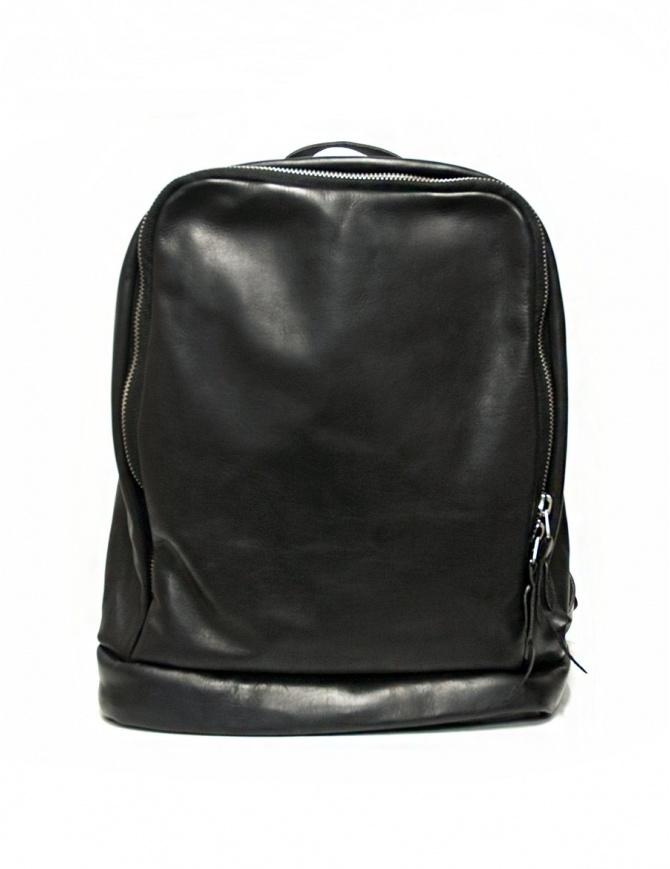 Zaino Delle Cose modello 76 in pelle nera Z6 BABY CALF BLK borse online shopping