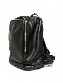 Zaino Delle Cose modello 76 in pelle nera acquista online