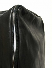 Delle Cose model 76 black leather backpack price