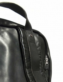 Delle Cose model 76 black leather backpack bags buy online