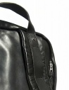 Delle Cose style 76 black leather backpack 76-BABY-CALF-BLK buy online