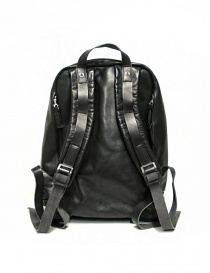 Delle Cose model 76 black leather backpack bags price