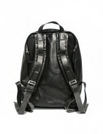 Zaino Delle Cose modello 76 in pelle nera borse prezzo