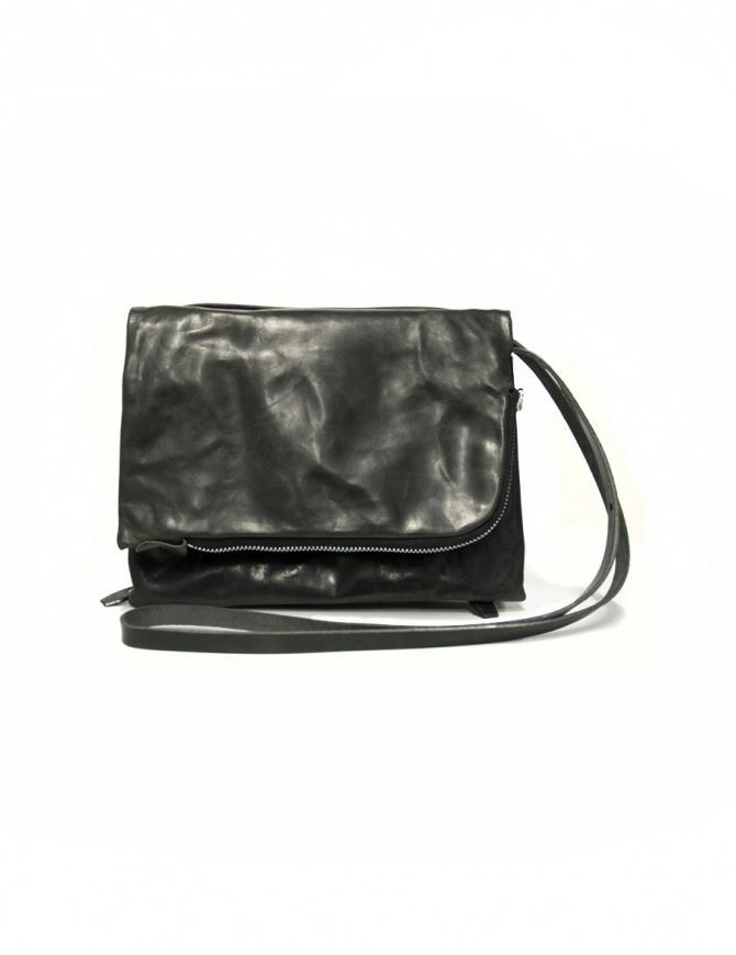 Borsa Delle Cose modello 56 in pelle nera 56-BABY-CALF-BLK borse online shopping