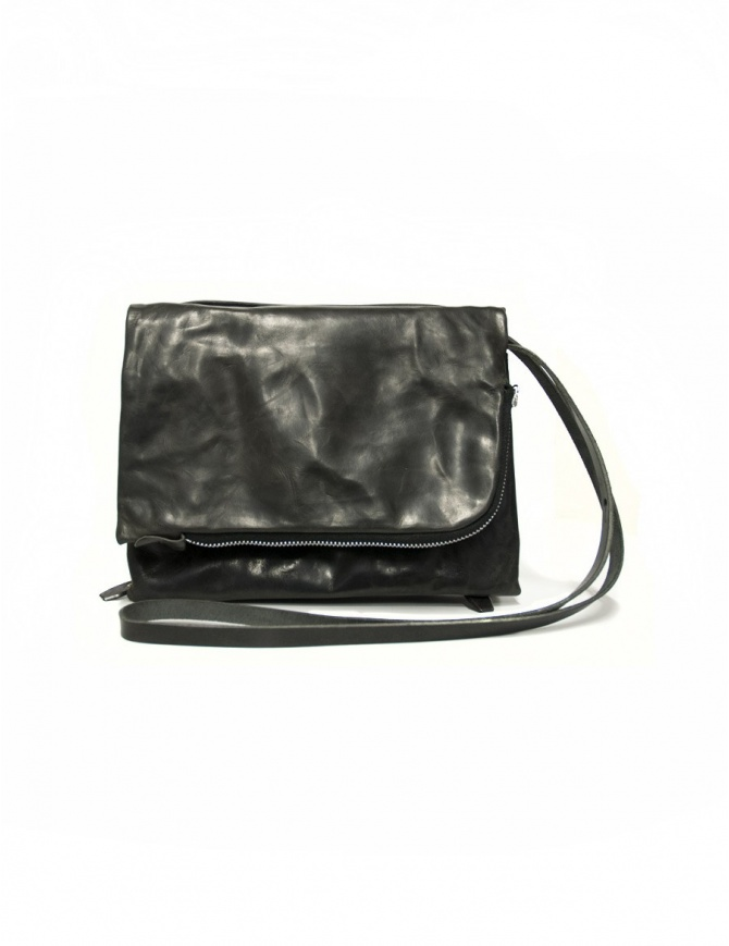 Delle Cose style 56 black leather bag 56-BABY-CALF-BLK bags online shopping