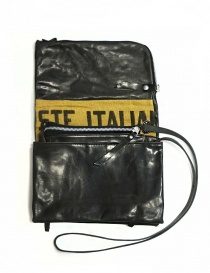 Delle Cose style 56 black leather bag price