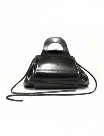 Borsa Delle Cose modello 700 in pelle nera 700 GROPPONE BLK order online