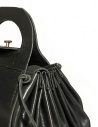 Delle Cose style 700 black leather bag 700 GROPPONE BLK price