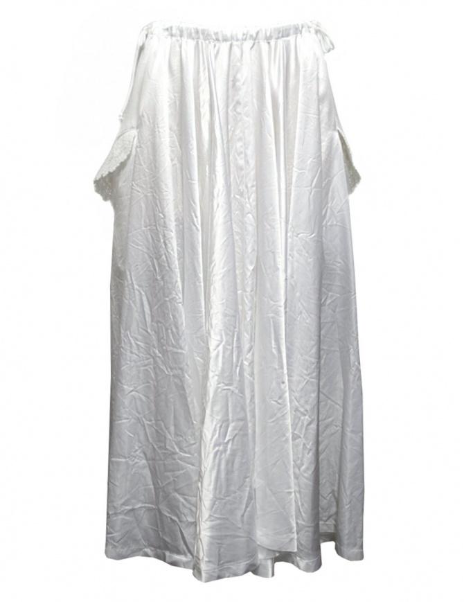 Miyao white long skirt MM-S-01 WHITE SKIRT womens skirts online shopping