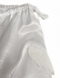 Miyao white long skirt price