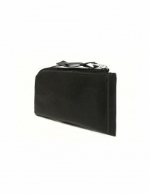 Delle Cose black leather zipped wallet buy online