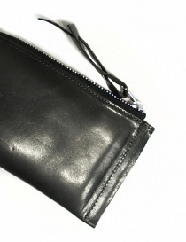 Delle Cose black leather zipped wallet price