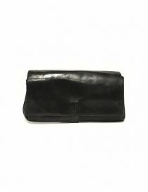 Portafoglio Delle Cose modello 81 in pelle nera online