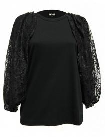 Maglia Miyao senza maniche colore nero MM-B-07-BLK-TEE order online