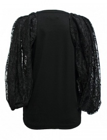 Miyao black color sleeveless sweater