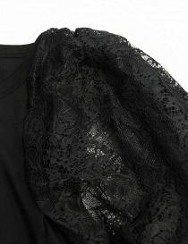Maglia Miyao senza maniche colore nero prezzo