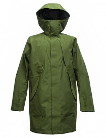 Giacca Goldwin Hooded Spur Coat colore verde GO01700-GREEN order online