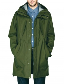 Giacca Goldwin Hooded Spur Coat colore verde prezzo