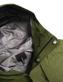 Giacca Goldwin Hooded Spur Coat colore verde giubbini uomo acquista online