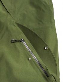 Giacca Goldwin Hooded Spur Coat colore verde giubbini uomo prezzo
