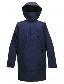 Giacca Goldwin Hooded Spur Coat colore navy online