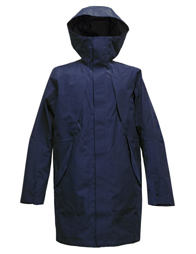 Giacca Goldwin Hooded Spur Coat colore navy GO01700-NAVY giubbini uomo online shopping