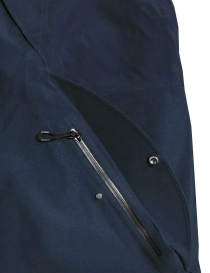 Goldwin Hooded Spur Coat navy jacket