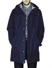 Goldwin Hooded Spur Coat navy jacket mens jackets buy online