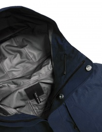 Giacca Goldwin Hooded Spur Coat colore navy giubbini uomo prezzo