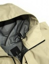Giacca corta Goldwin Hooded Spur Coat colore beige GO01701-BEIGE prezzo