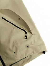 Goldwin Hooded Spur Coat beige short jacket mens jackets buy online