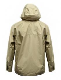 Giacca corta Goldwin Hooded Spur Coat colore beige giubbini uomo prezzo