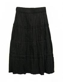 Womens skirts online: Sara Lanzi black skirt