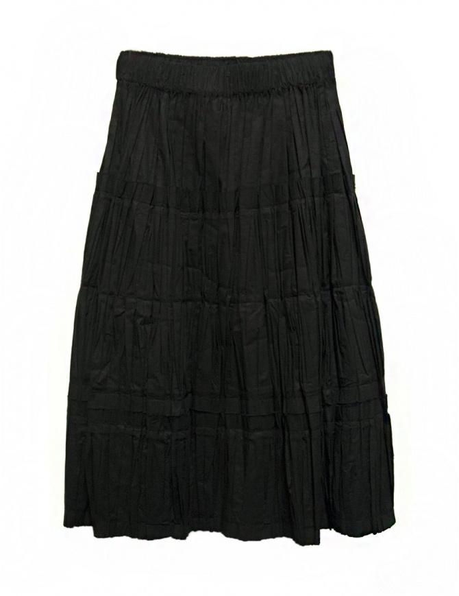 Sara Lanzi black skirt 02FCO0309-BLK womens skirts online shopping