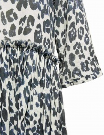 Sara Lanzi blue white speckled long dress price