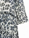 Sara Lanzi blue white speckled long dress 01GCO04018P ANIMBLU price
