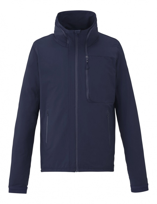 Allterrain by Descente Super Sonic Stretch graphite navy jacket DIA3712U-GRNV mens jackets online shopping