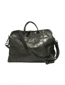 Delle Cose 2107 style leather bag, black polished color 2107-HORSE-BK