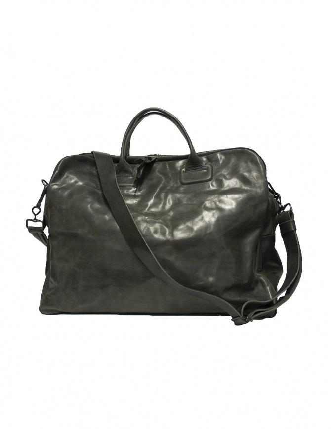 Borsa in pelle Delle Cose modello 2107, nero lucidato 2107 HORSE POLISH 26 borse online shopping