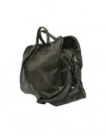Delle Cose 2107 style leather bag, black polished color