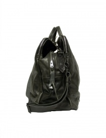 Delle Cose 2107 style leather bag, black polished color bags buy online