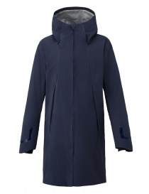 Mens coats online: Allterrain by Descente Streamline Boa Shell graphite blue coat